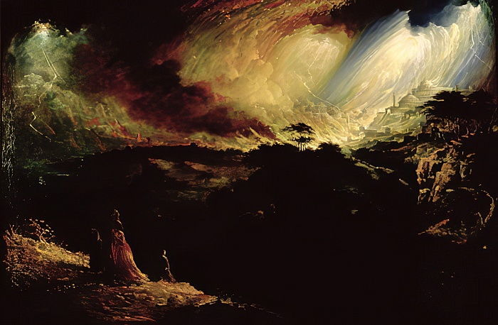 La destruction de Sodome et Gomorrhe - John Martin