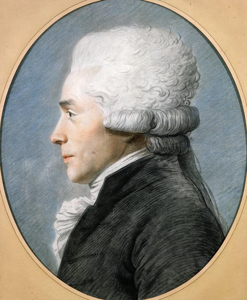 Maximilien de Robespierre (1758,94) (pastel on paper) , Joseph Boze