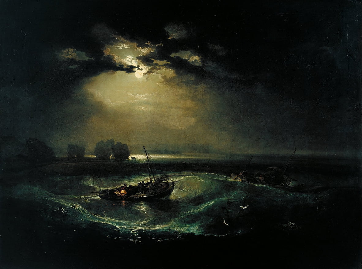 Pêcheurs en mer - Joseph Mallord William Turner