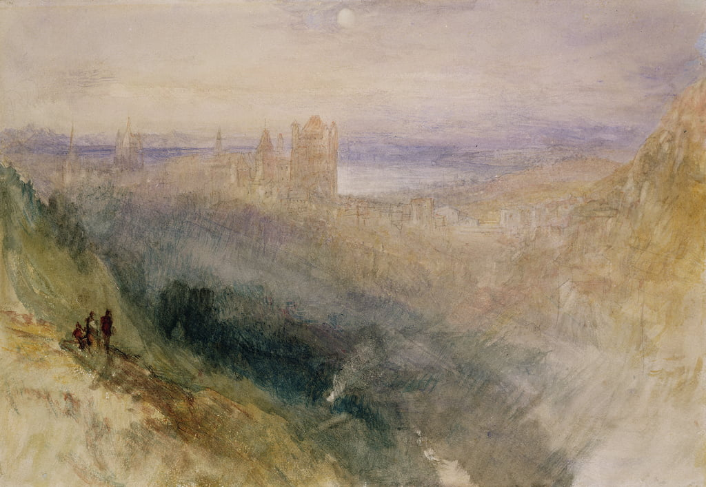 Lausanne, from Le Signal  - Joseph Mallord William Turner