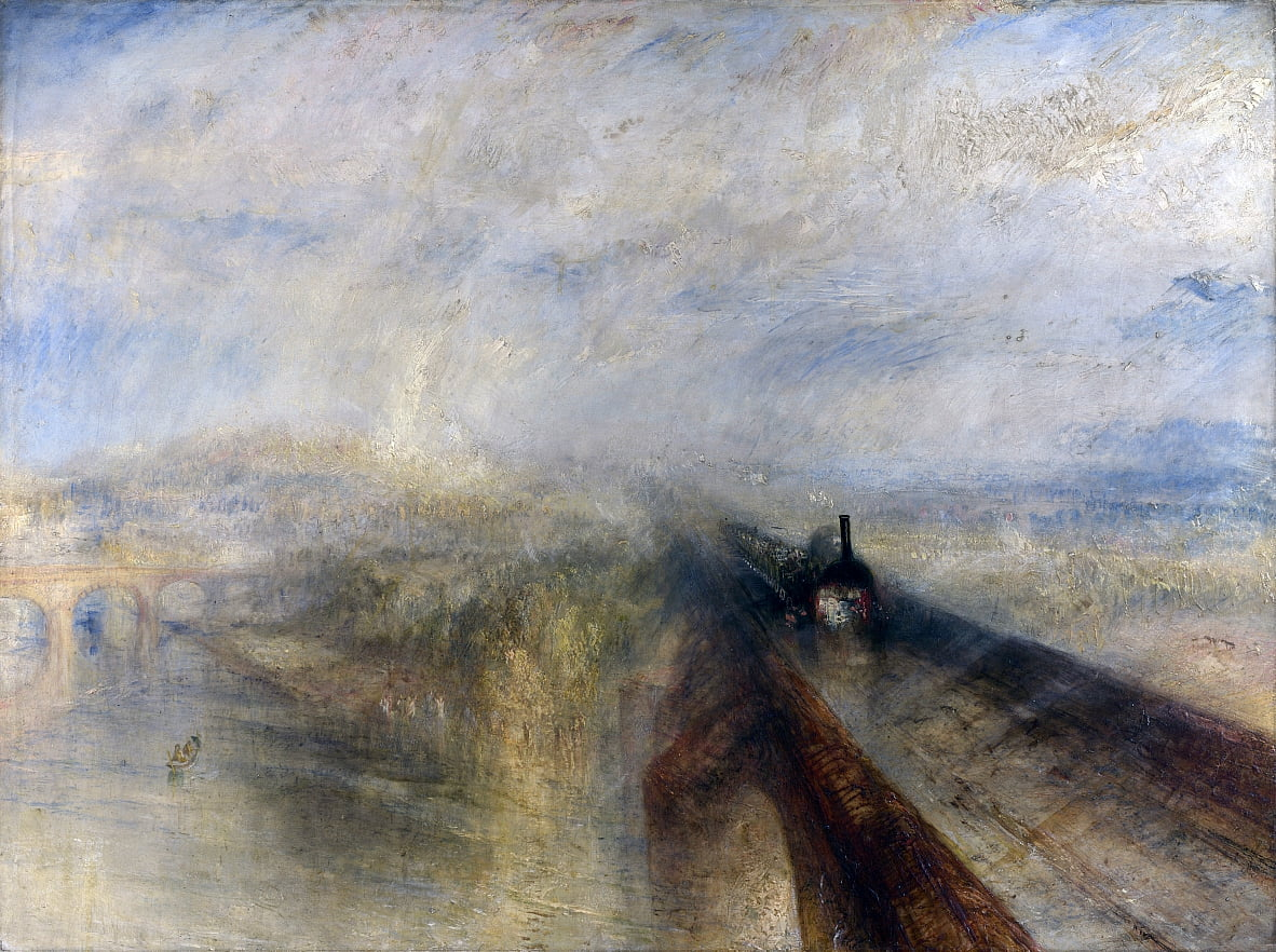 Le Great Western Railway - Joseph Mallord William Turner