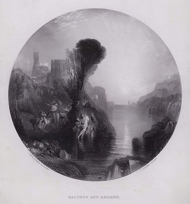 Bacchus et Ariane - Joseph Mallord William Turner