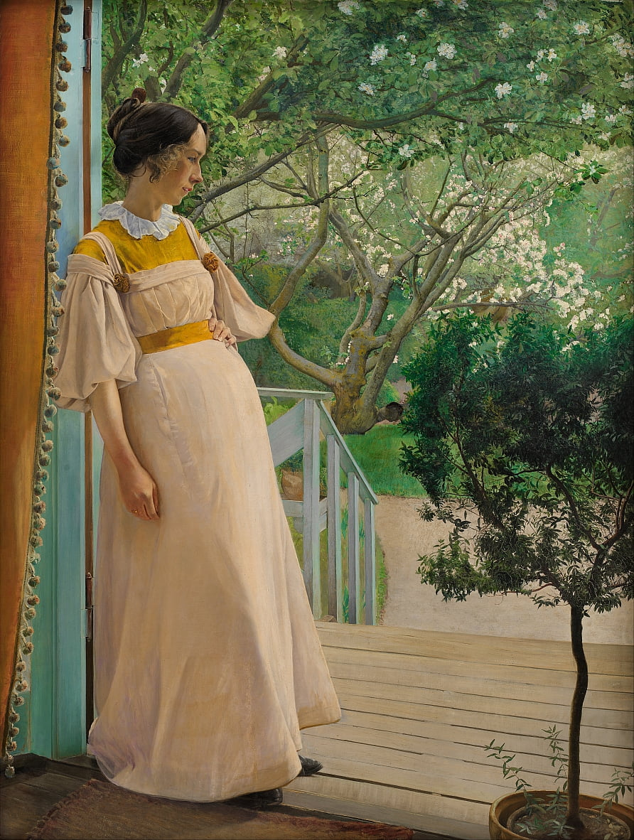 The Artists Wife - Laurits Andersen Ring
