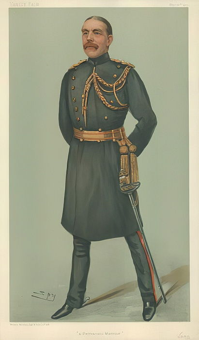 Mr William Dudley Ward, Guerrier permanent, 30 mai 1901, dessin animé Vanity Fair - Leslie Matthew Ward