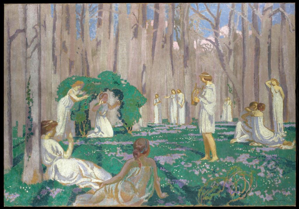 Orphee Et Eurydice 1910 De Maurice Denis