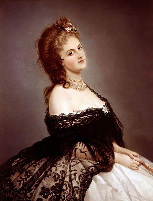 Virginia Oldoini, Comtesse de Castiglione, d&39;après une photo de Pierre-Louis Pierson, 1862 - Michele Gordigiani