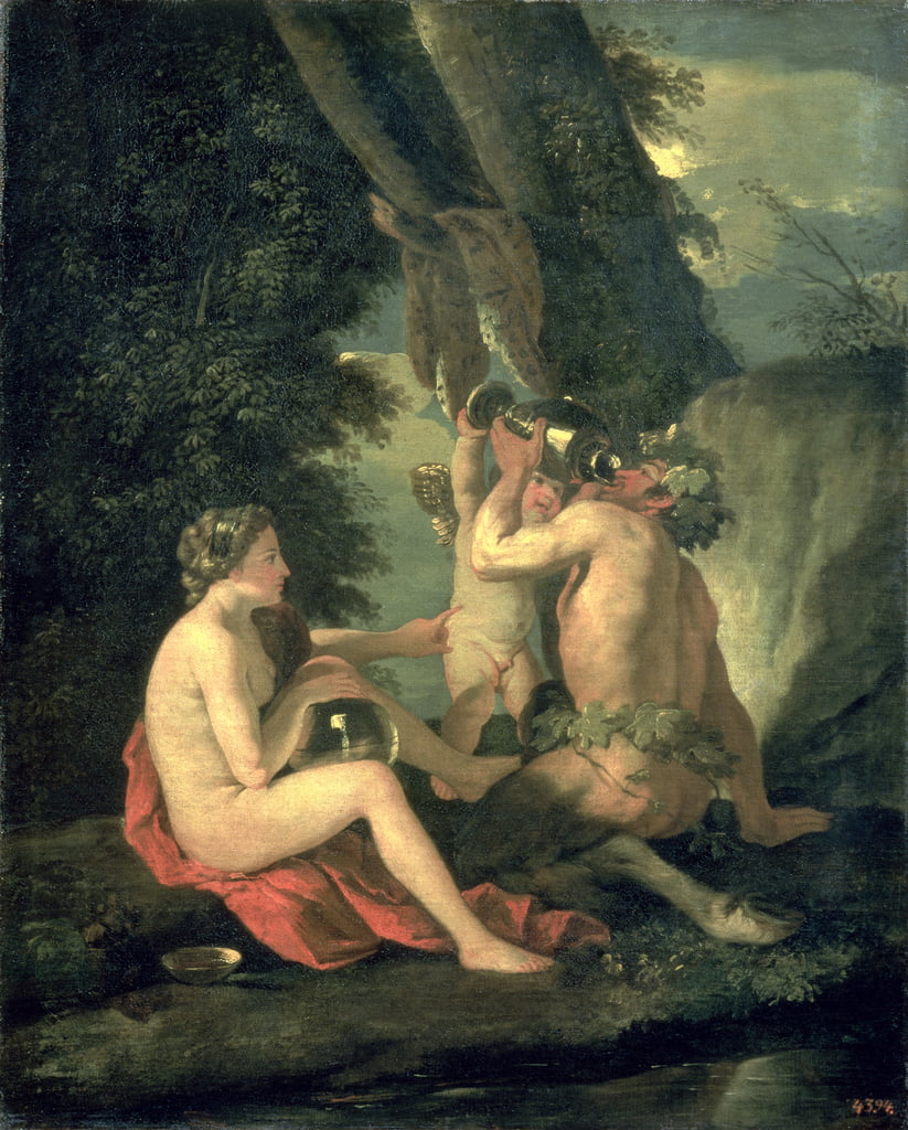 Satyr and Nymph, 1630 - Nicolas Poussin