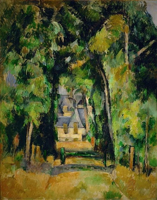 Allée à Chantilly - Paul Cézanne