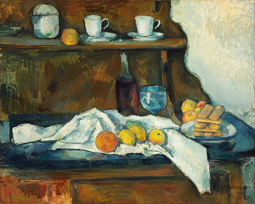 Le buffet - Paul Cézanne