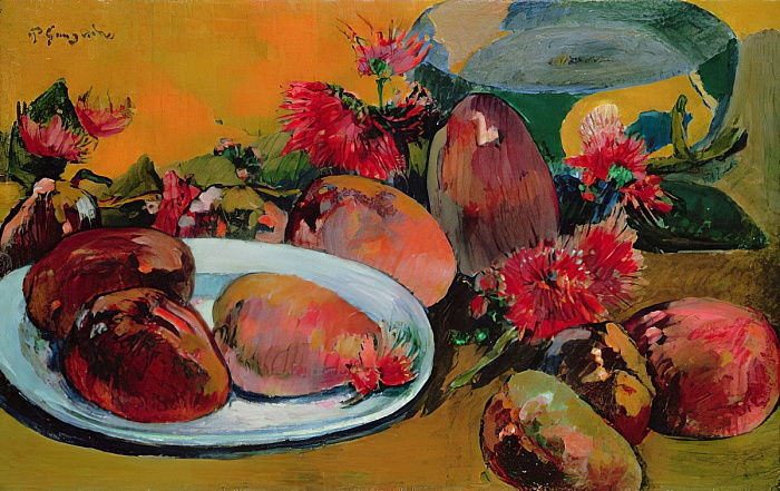 Nature morte aux mangues - Paul Gauguin