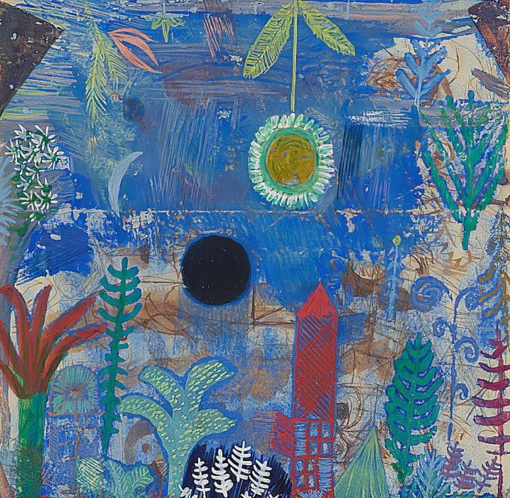 Paysage englouti. 1918 de Paul Klee