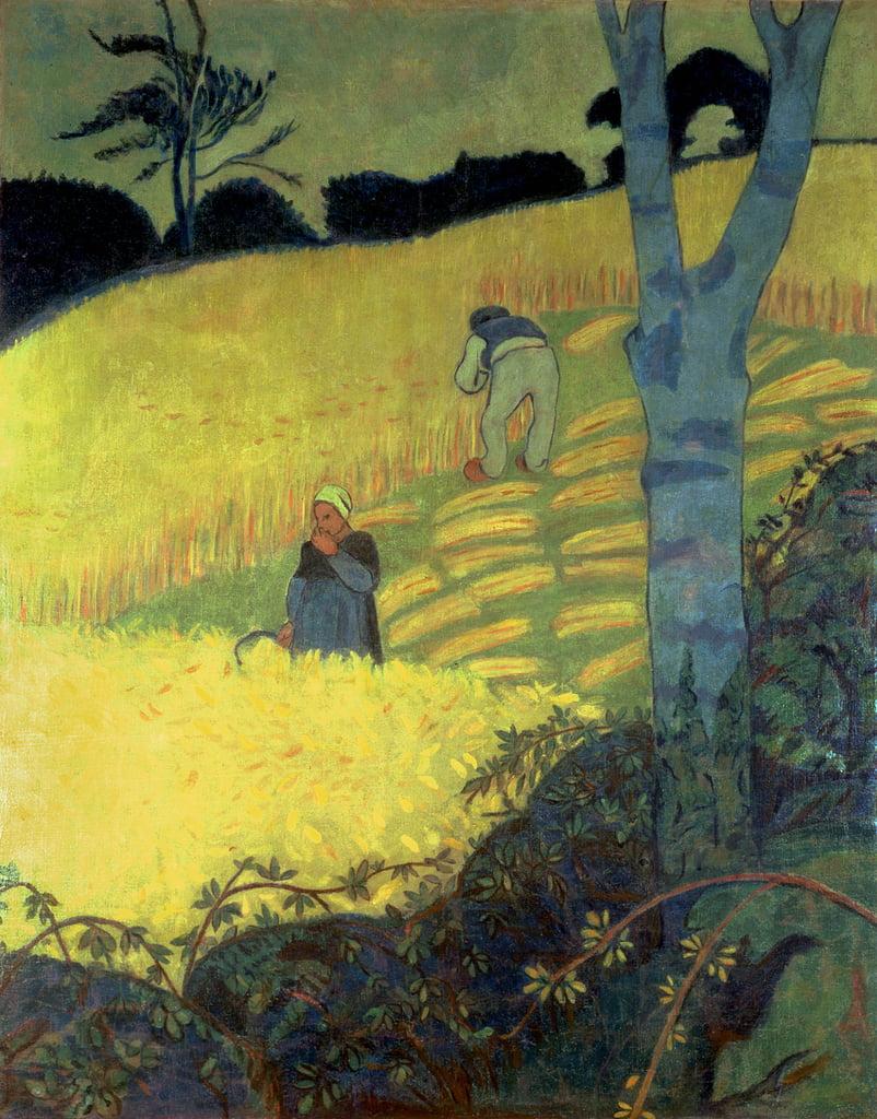 Scène de récolte - Paul Sérusier