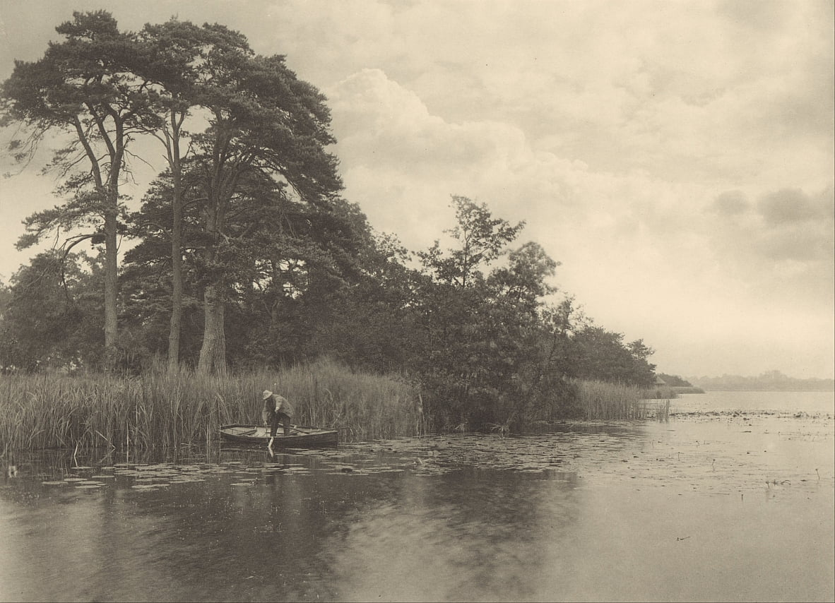 The Haunt of the Pike - Peter Henry Emerson