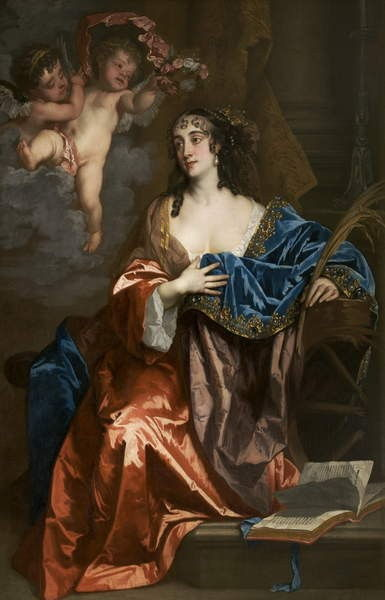 Eleanor Needham, Lady Byron, comme Sainte Catherine, c.1663-64 - Peter Lely