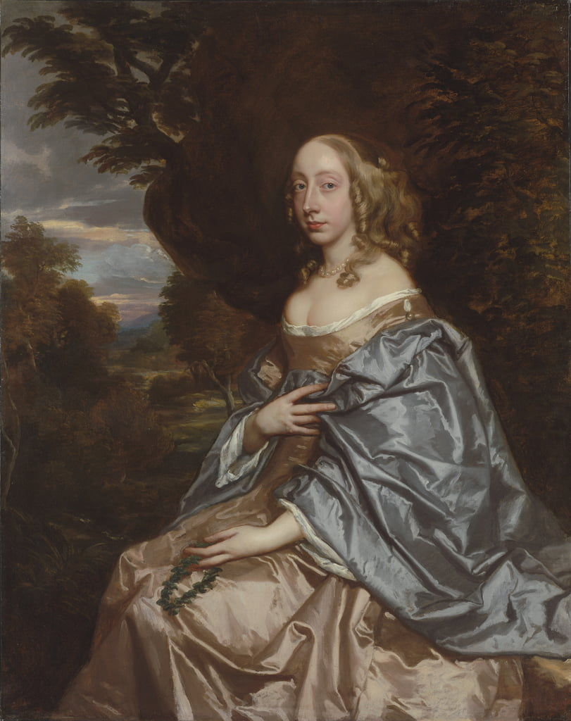 Portrait d&39;Anne Bayning - Peter Lely