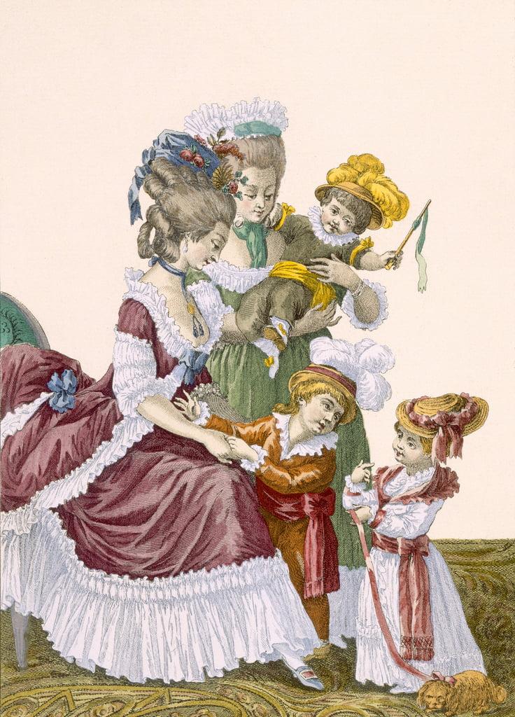 Les enfants du comte d'Artois, gravés par Dup...