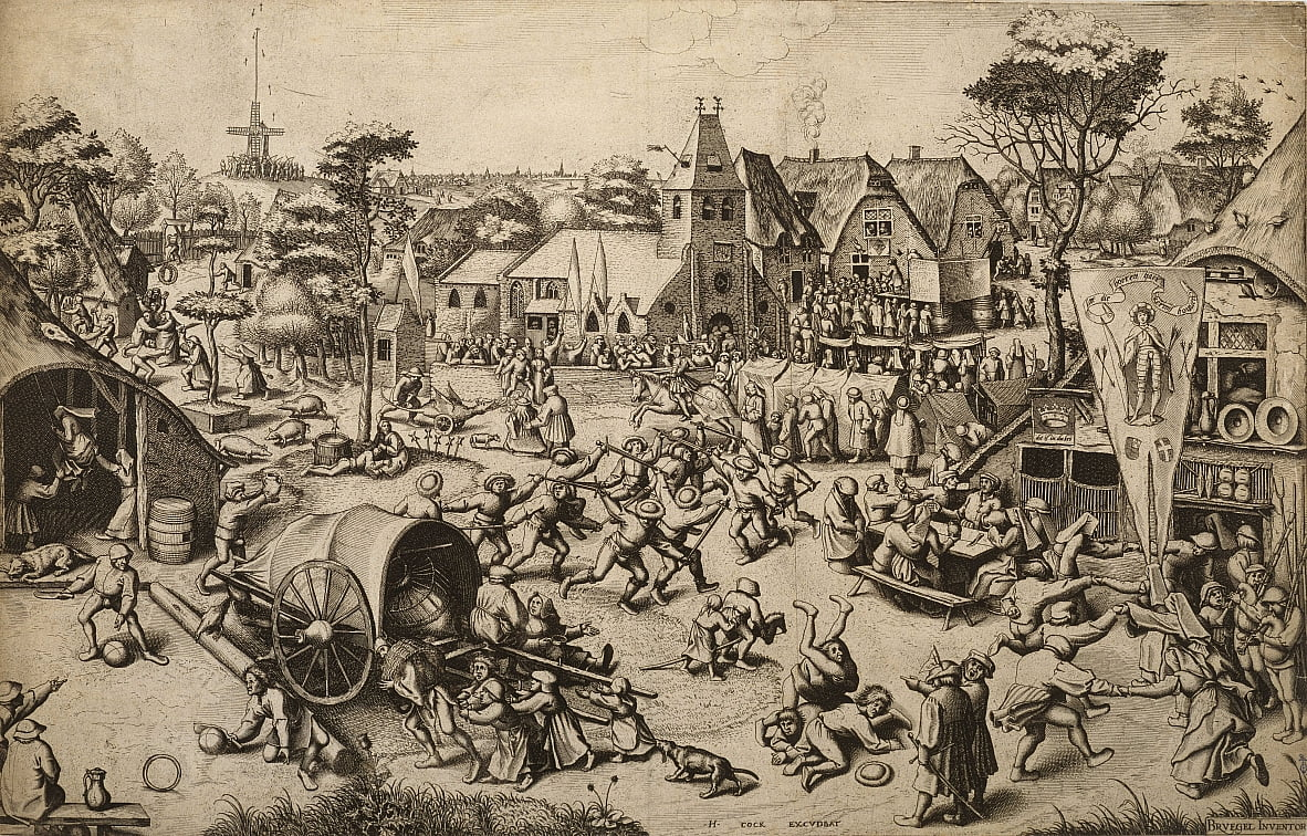 La Foire de la Saint Georges Day - Pieter Bruegel the Elder