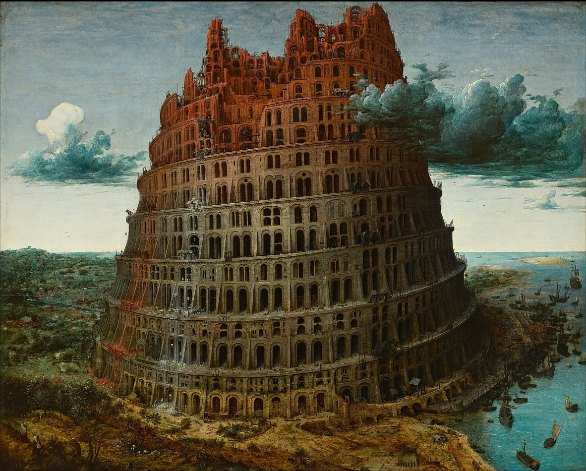 La Tour de Babel (Rotterdam) - Pieter Bruegel the Elder