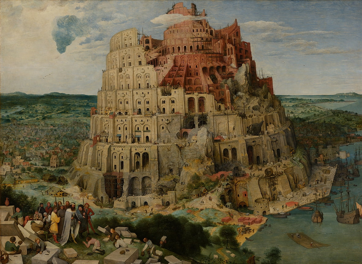 La tour de Babel (Vienne) - Pieter Bruegel the Elder