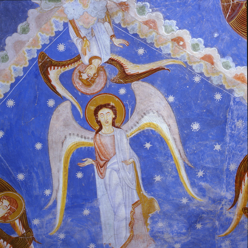 Anges, c.1175-80 - Romanesque