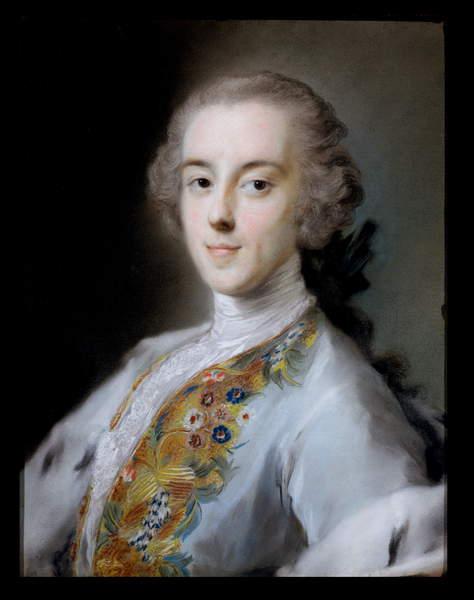 Portrait d&39;Horace Walpole (1717-97) vers 1741 (...