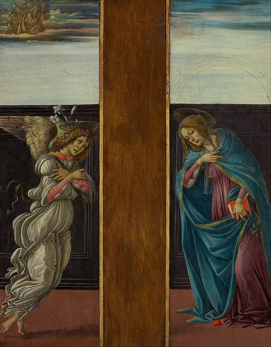Annonciation - Sandro Botticelli