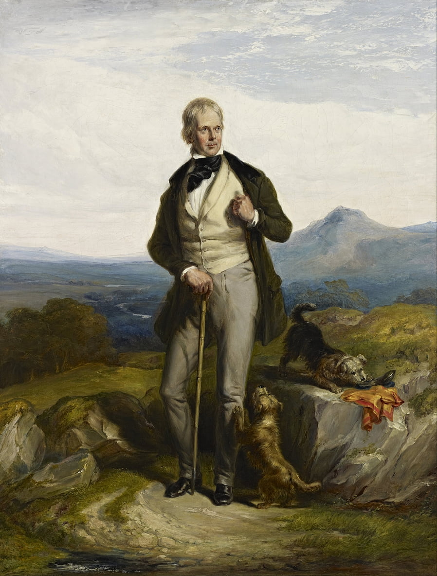 Sir Walter Scott, 1771 - Sir William Allan
