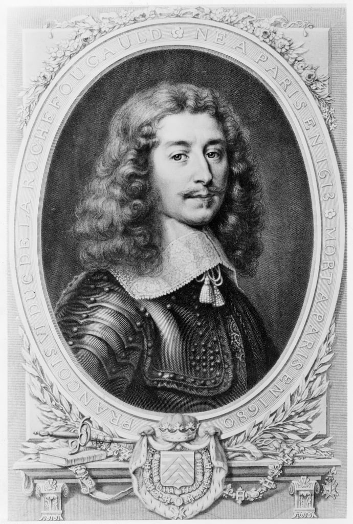 Portrait of the Duc de la Rochefoucauld  - T. Goutiere