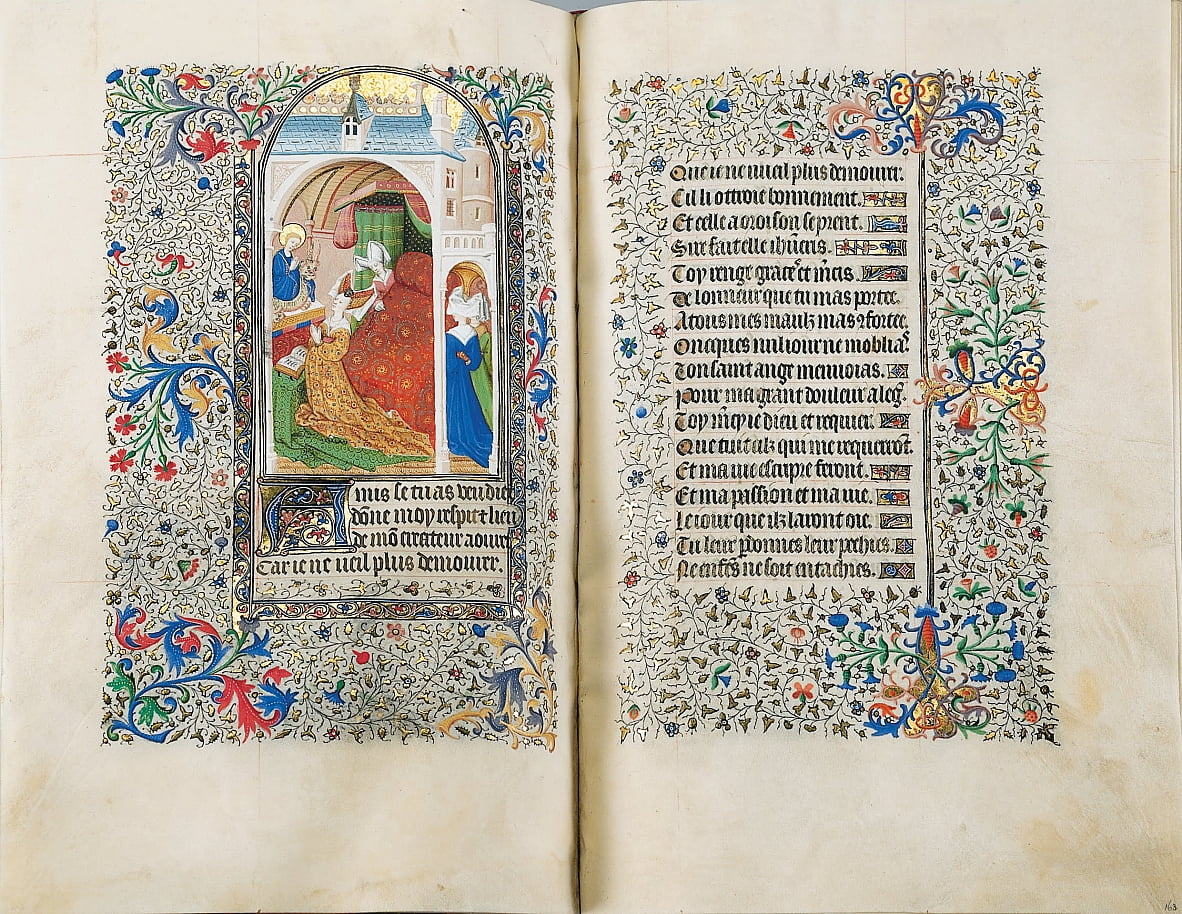 Livre dHeures Sobieski - The Master of the Bedford Hours