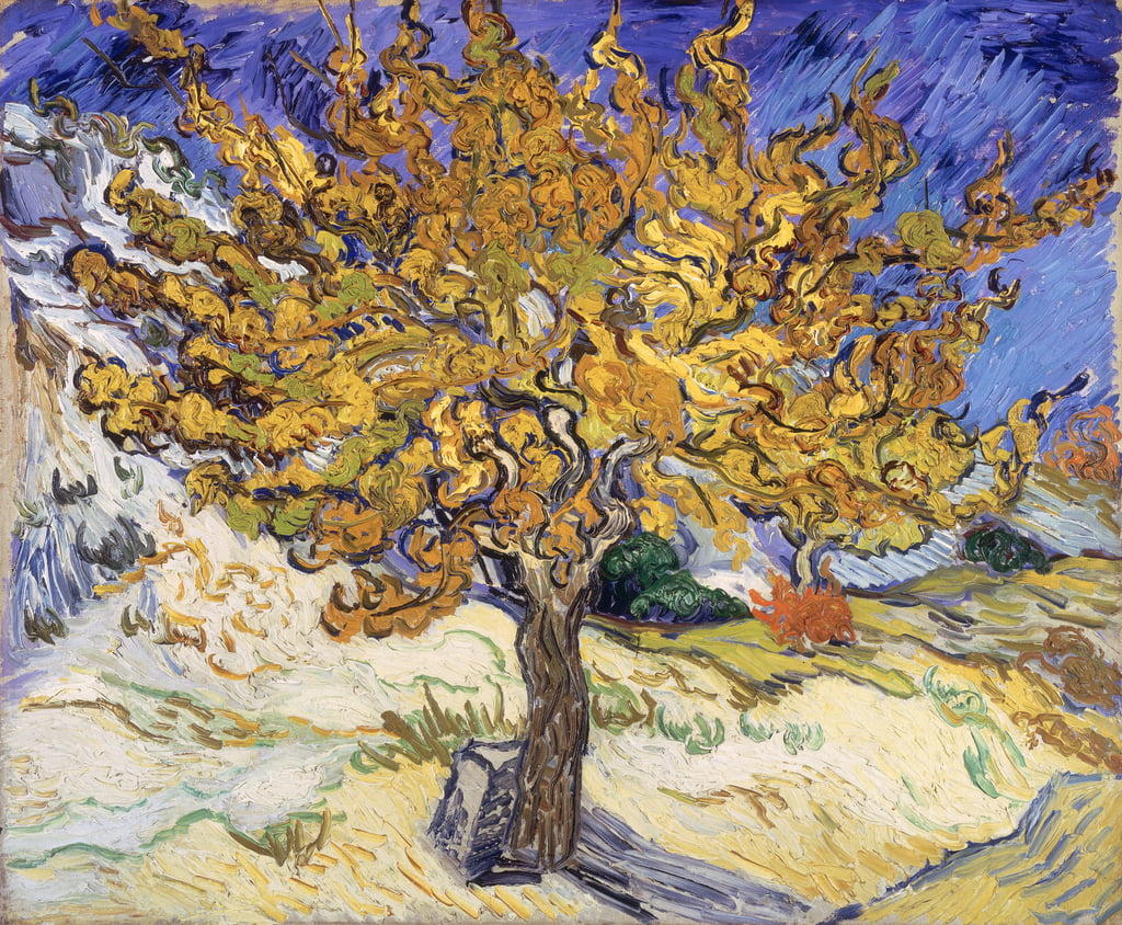 Mulberry Tree, 1889 - Vincent van Gogh