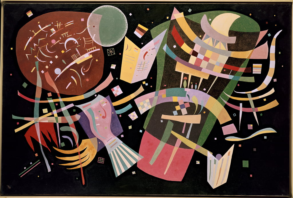 Composition X, 1939 - Wassily Kandinsky