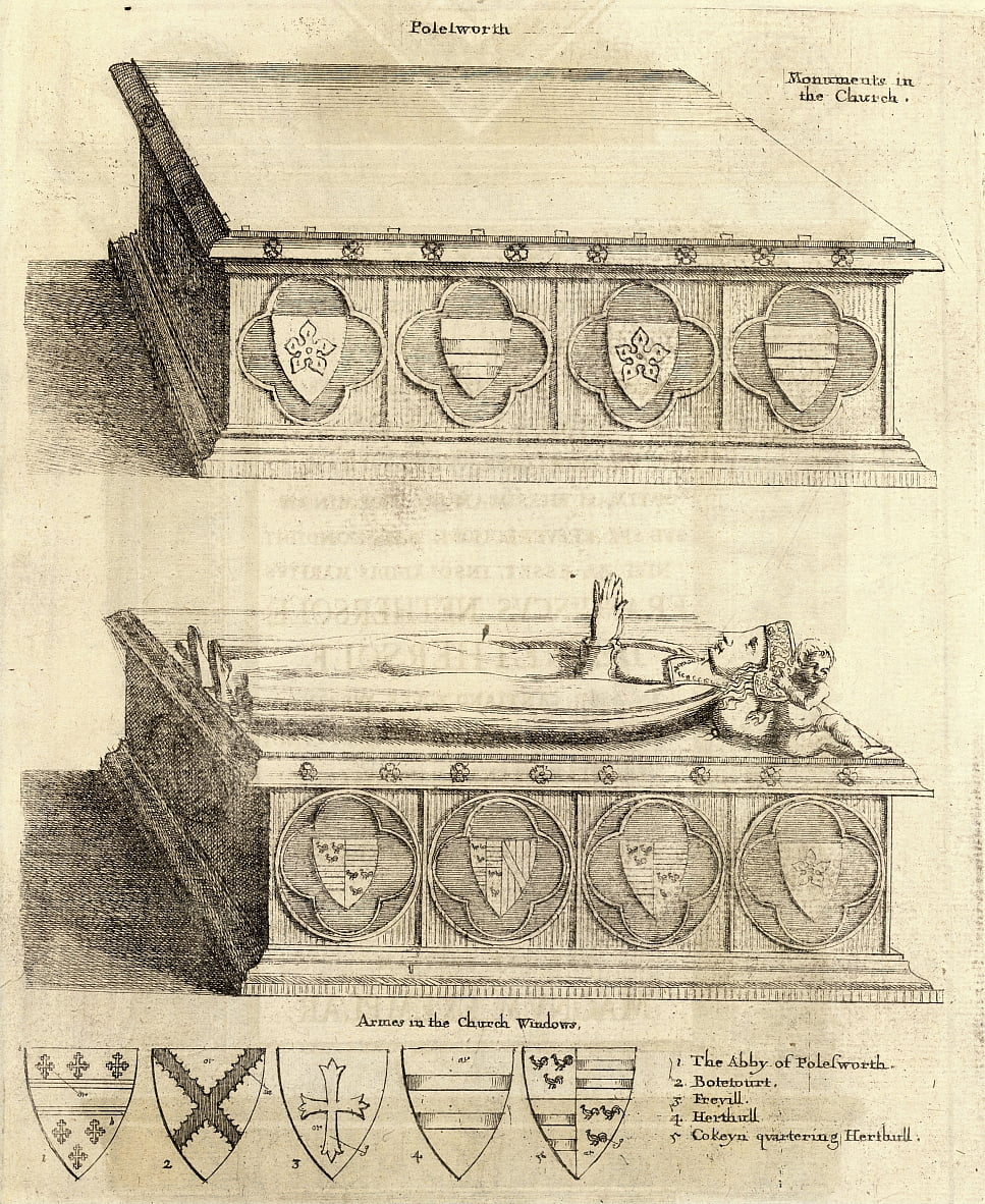 Famille Herhull (monument) - Wenceslaus Hollar