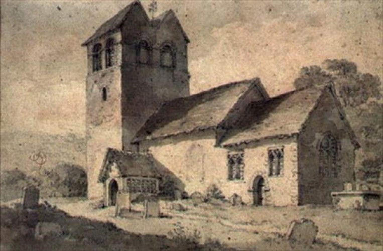 St.Bartholomews Church, Fingest, Bucks - William Alexander