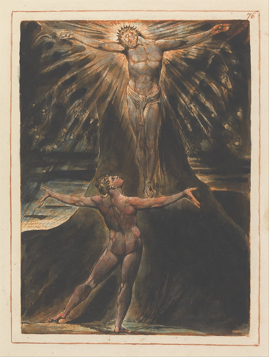 Jérusalem, plaque 76 - William Blake