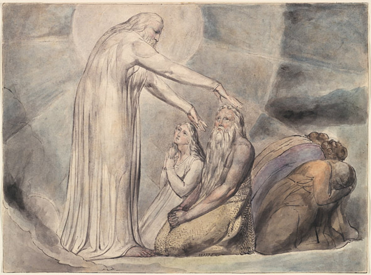 Jobs Evil Dreams - William Blake