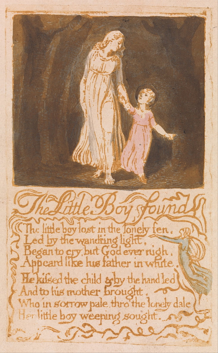 Chansons dinnocence - William Blake