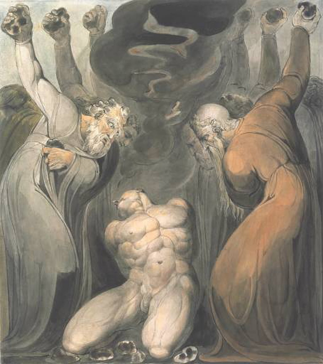 Le blasphémateur - William Blake