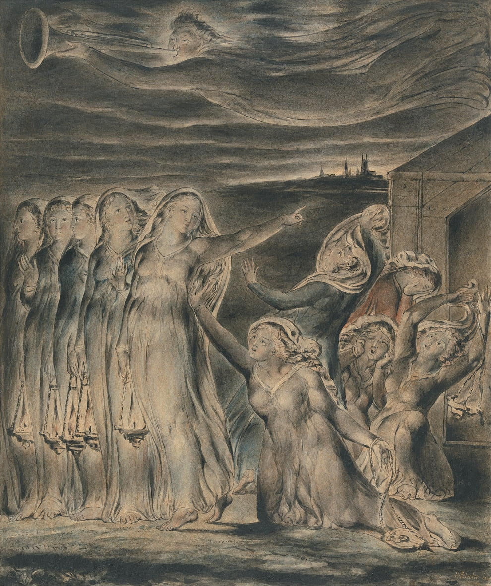 La parabole des vierges sages et folles - William Blake