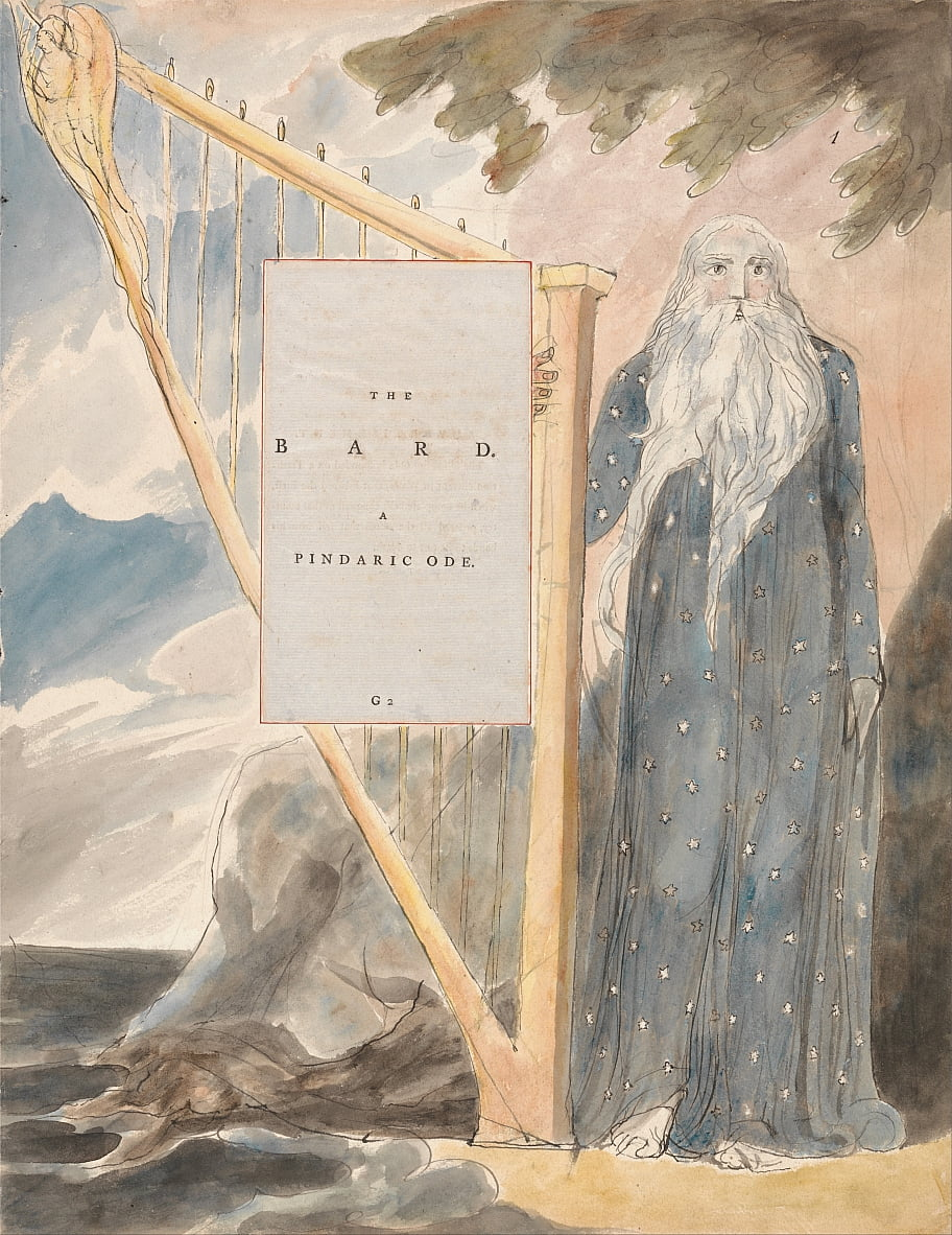 The Poems of Thomas Gray, Design 53, - William Blake