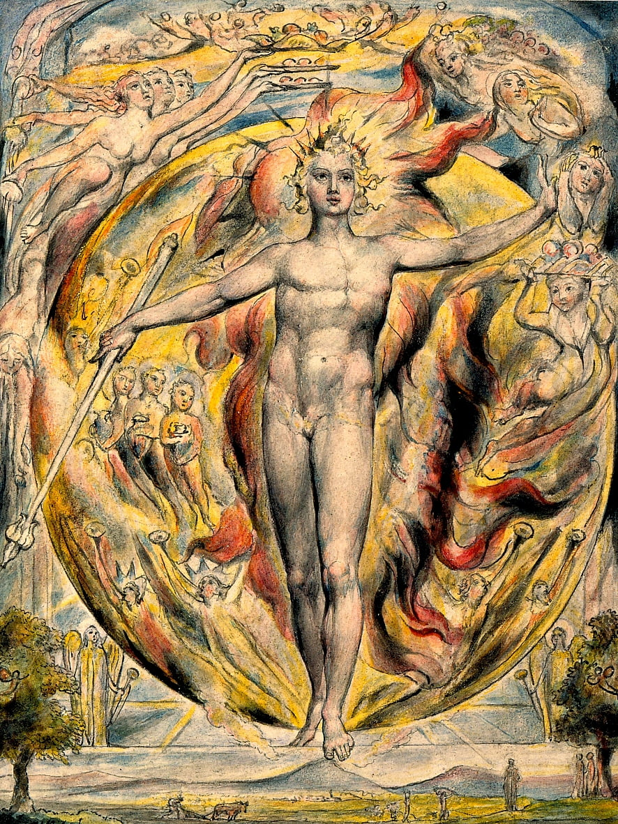 Le soleil à sa porte orientale - William Blake