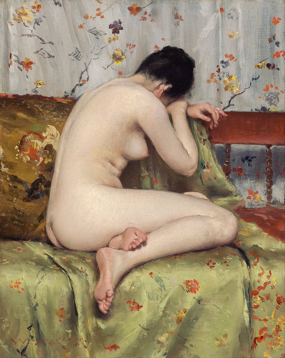 Une Madeleine moderne - William Merritt Chase