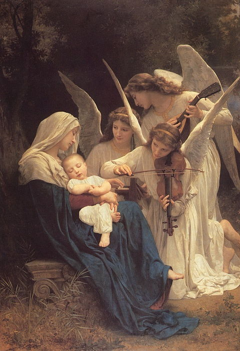 Le chant des anges, 1881 - William Adolphe Bouguereau