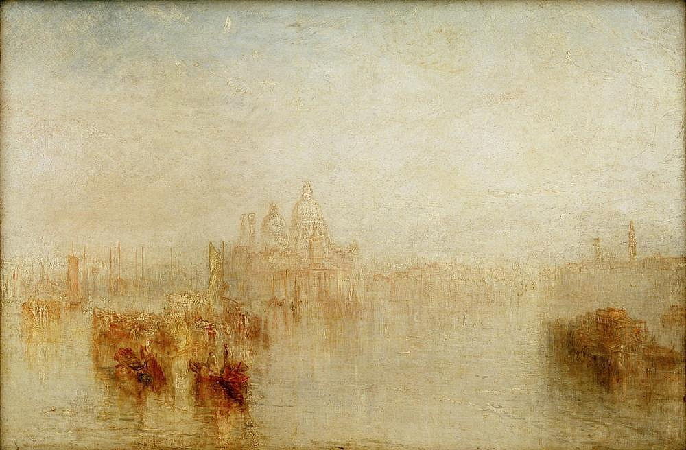 Venise - Maria della Salute - Joseph Mallord William Turner