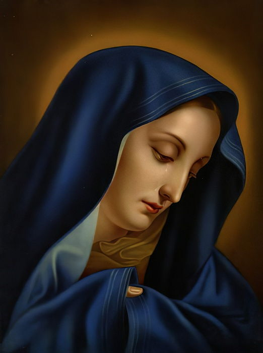 Mater Dolorosa - after Carlo Dolci
