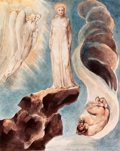 Blake The Third Tentation - William Blake